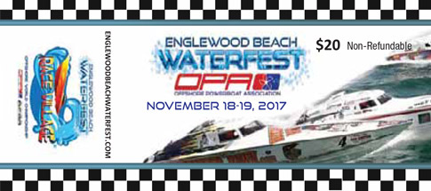 Englewood Beach Waterfest 2017 Ticket Preview