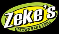 Zeke's Uptown Bar & Grille logo