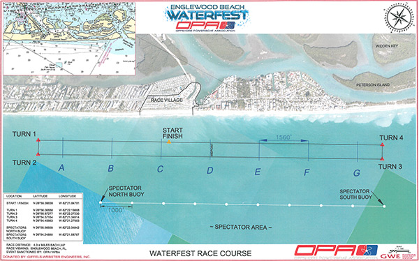 Race Course Map Englewood FL