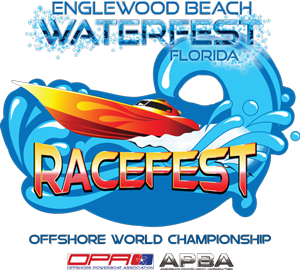 Englewood Beach Waterfest Racefest logo