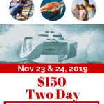 Englewood Beach Waterfest 2019 Event VIP Ticket Preview - showing race boat