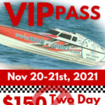 Englewood Beach Waterfest OPA Boat Race VIP Pass ticket preview for Nov 20 & 21, 2021, $150