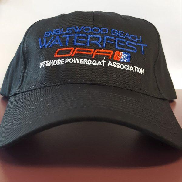 Englewood Beach Watefest Hat Black