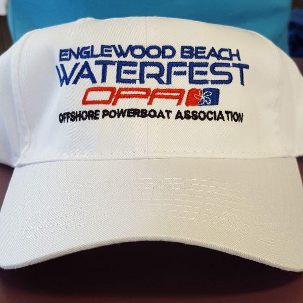 Englewood Beach Watefest Hat White