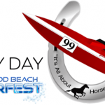 Derby Day logo, tagline: It's all about Horsepower