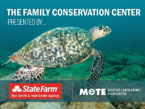 The Family Conservation Center presented by State Farm - Ron Smith & Matt Smith Agency & More Marine Laboratory & Aquarium