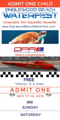 Children's Englewood Beach Waterfest Ticket - Nov 17-18, 2018