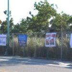 Waterfest Fence Sponsor Signs