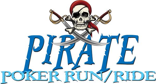 Pirate Poker Run/Ride logo
