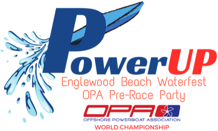 PowerUp Englewood Beach Waterfest Pre Race Party Logo