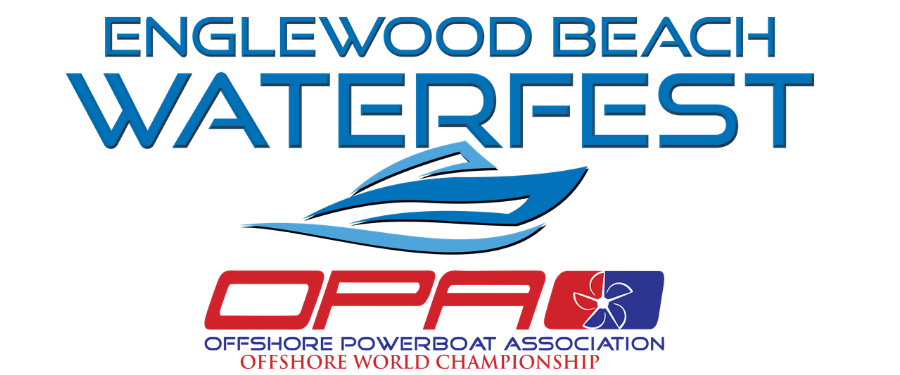 Englewood Beach Waterfest and Offshore Powerboat Association Offshore World Championship logo