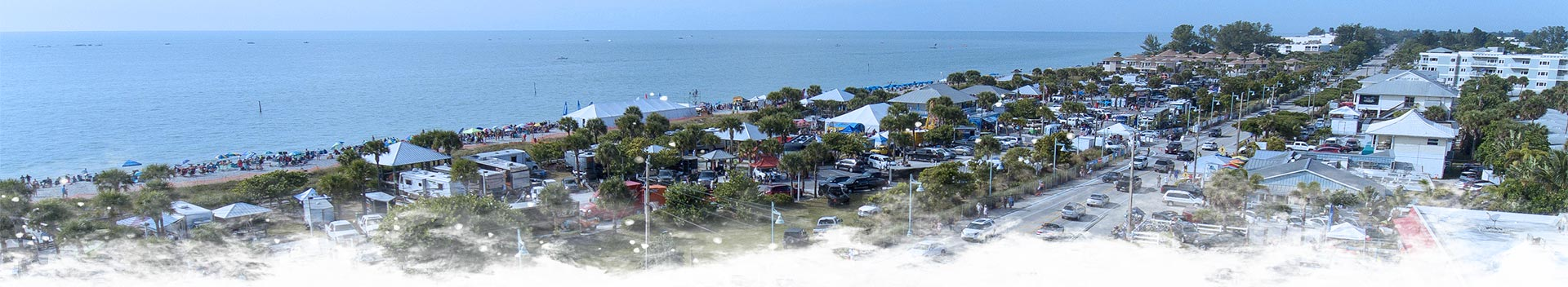 Englewood Beach Aerial View