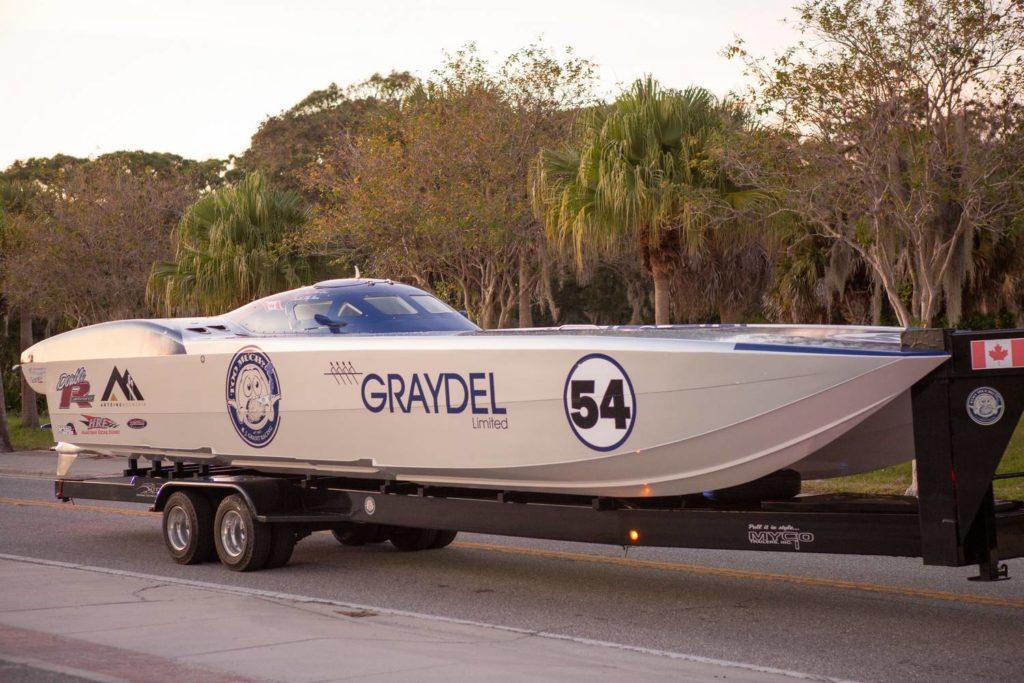 Graydel limited 54 raceboat