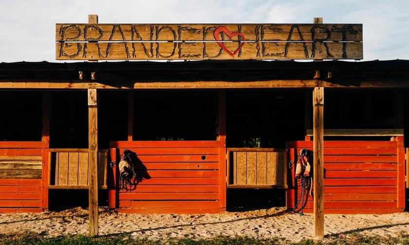 Branded Heart Barn