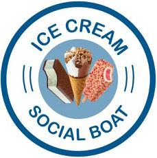 Ice Cream Social Boat logo