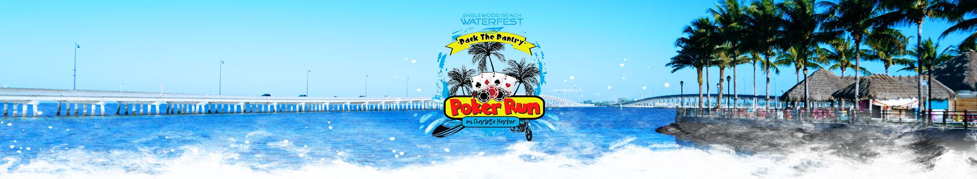 Pack the Pantry Poker Run on Charlotte Harbor Logo