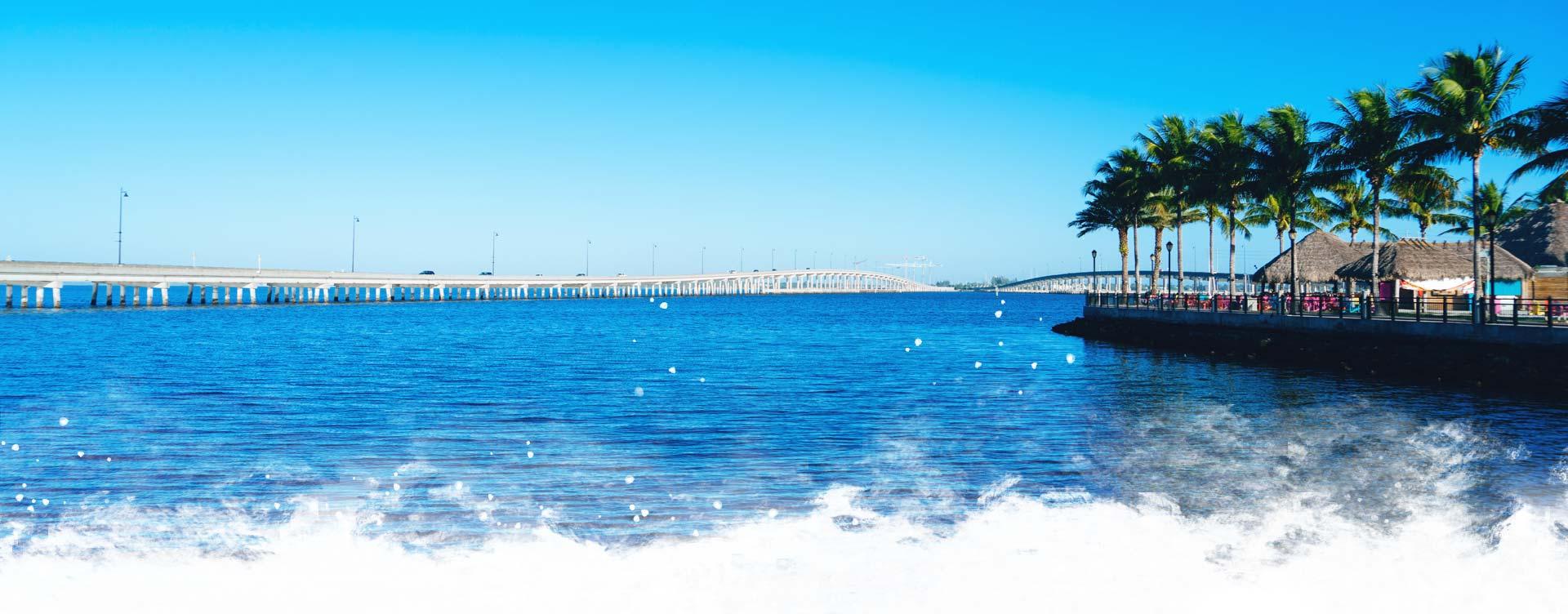 Charlotte Harbor Background Image